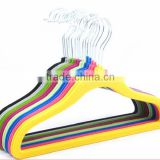 High Quality Children Velvet Hangers/Flock Hangers
