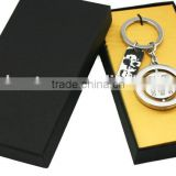 "Wholesale Alloy Letter ""M"" Crystal Steel Big Keychain Keyring Letter M alloy metal keychain"