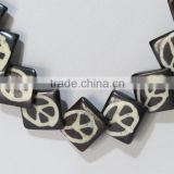 Bone Horn Necklace Handicrafts Hand Beads Neck pendant Jewelry