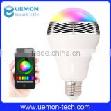 new products in china market e27 bluetooth speaker music light bulb for smart home , bluetooth speaker music led blub