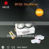 BR-502 portable hair removal professional double hot waxing machine wholesale