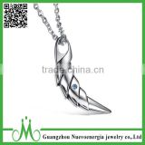 High polishing cheap men jewelry silver tooth pendant necklace wholesale                                                                                                         Supplier's Choice