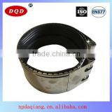 Professional Factory Technical F Type 10 Inch for Europea SS304 Pipe Clamp for Large Diameter Pipe