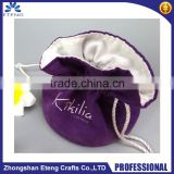 Hot selling custom logo silk satin bags hair,hair extension bags,jewelry gift bag satin                                                                         Quality Choice
