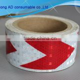 Good quality arrow reflective tape shinning star white reflective tape blue reflective tape 5cm*50m