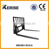 Tractor backhoe 3 point pallet forks on sale