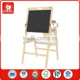 fashion kids wooden toy tergum chalkboard and Whiteboard blackboard folding kids erasable magic magnetic drawing board