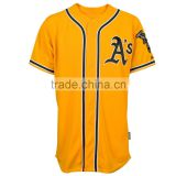 Professional super quality tricot mesh baseball wear/jersey/softball shirts for sale