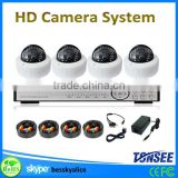 cheap hd home security camera systems,4ch 1080AHD dome zoom lens HD camera with DVR recorder