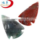 Wholesale Agate Stone Spearhead Arrowhead Point Pendant