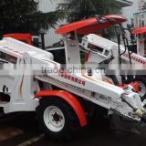 wheel type self procelling peanuts combined harvester machine