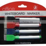 whiteboard marker with magnet and brush