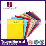 Alucoworld latest design pe coating building material acp panel aluminum plastic composite panel