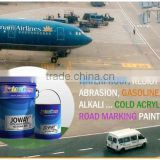 Cold Road marking Paint Solvent-based Acrylic Plastic JOWAY