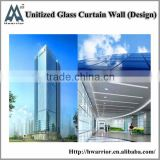 Aluminum Unitized Curtain Wall Manufacturer in China