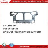 Car Body Parts Radiator Support / Radiator Frame Chevrolet Sail Parts
