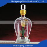 China Manufacturer Hot Sale Wholesale Cut Glass Wine Bottles