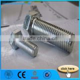 Factory Price Hexagon Head Bolt Nut DIN933 DIN934