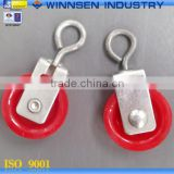 High Quality Slide Bracket Plastic Pulley Wheel For Tent and Greenhouse Frame Use YS50030