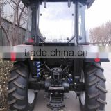 TZ08D front loader for Wheeled Tractor YTO-704 , 4WD Aircab Tractor with 4 in 1 front end loader