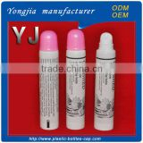 5 ml cosmetic package plastic lip balm tube with pink cap                                                                         Quality Choice