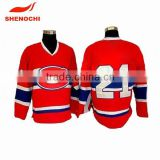 dongguan manufacturer high quality ice hockey goalie jerseys