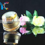 Transparent Round Dimand Cap Acrylic Cosmetic Plastic Cream Jars