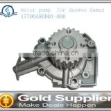 Brand New water pump for daewoo damas 17700A80D01-000 with with high quality and most competitive price.