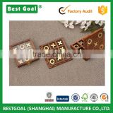 Wooden toy Wood Tic Tac Toe Family Board Game                                                                         Quality Choice