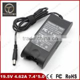 Good quality 19.5V 4.62A 90W 7.4*5.0 Laptop AC Power Adapter Charger for Dell PA-10 for Dell Latitude D620 D630 laptop