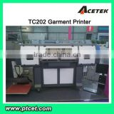 Textile Fabric direct to garment printer in digital printer with dx5 head