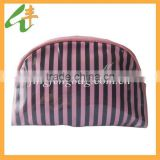 2014 promotional red& black small pvc makeup bag