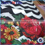 digital printed fabric dri fit fabric organic cotton fabric comfortable tactile impression