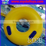 XIXI inflatable donut swim ring,yellow PVC inflatable floating swimming rings                                                                                                         Supplier's Choice