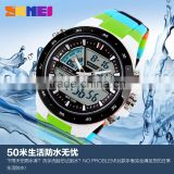 High quality unisex sport watch colorful waterproof brand new analog digital watches                                                                                                         Supplier's Choice