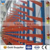 CE &ISO certificated Powder coating and heavy duty warehouse adjustable cantilever rack