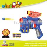 China wholesale plastic Kids shooting Gun Foam Toys Air Soft Gun Plastic Bullets Soft Dart Gun