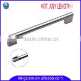 hot selling stainless steel bar handle kitchen cabinet bar handle wardrobe bar handle any length
