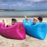 Portable outdoor inflatable sofa bed mattress outdoor folding beach bed lazy sofa air bags from pep talk