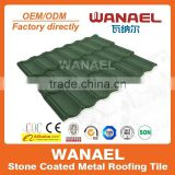 1340mm*420mm Decorative Metal Roof Tiles /Building Materials For House Stone Coated Roof Tile/ Good Metal Roofing Materials
