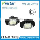 LED License Plate Light Rear LED license lamp for Toyota Alphard Auris Corolla Wish Sienna Urban for Scion xB xD