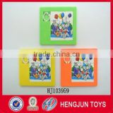 eco-friendly plastic sliding puzzle toy games for promotion gifts