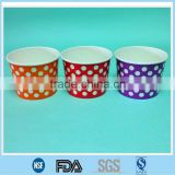 Buying Ice cream paper container/ Customer design for ice cream paper bowl manufacturer/16oz ice cream paper bowls with lids