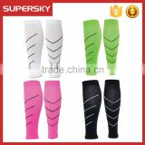 A-283 Professional Leg Running Sleeves Support Compression Brace Calf Shin Socks Leg Compression Sleeves Sports Calf Shin Sleeve