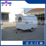 Mobile food cart for sales,crepe cart/street food vending cart for sales,fried ice cream/mobile food trailer with big wheels
