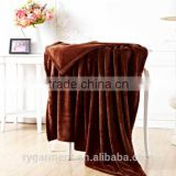 Chinese Fashion Design Knitted Throw Custom Warm Blanket