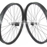 29er MTB carbon clincher 50mmx25mm mountain bike wheelset carbon with DT 350S Boost hub 32H