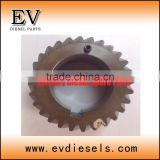 camshaft gear 4D33 4D33T crankshaft gear 4D34 4D34T flywheel gear construction machinery