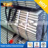 HRC steel coils gi steel pipe pre galvanized tubes pipe