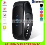 E02 smart watch health Silicone Wristband Time/Caller ID/alarm/Pedometer Sleep Monitor for IOS Android Sport bluetooth bracelet